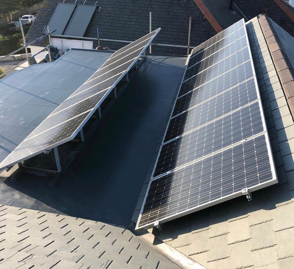 Flat Roofing and Solar Panels Cornwall